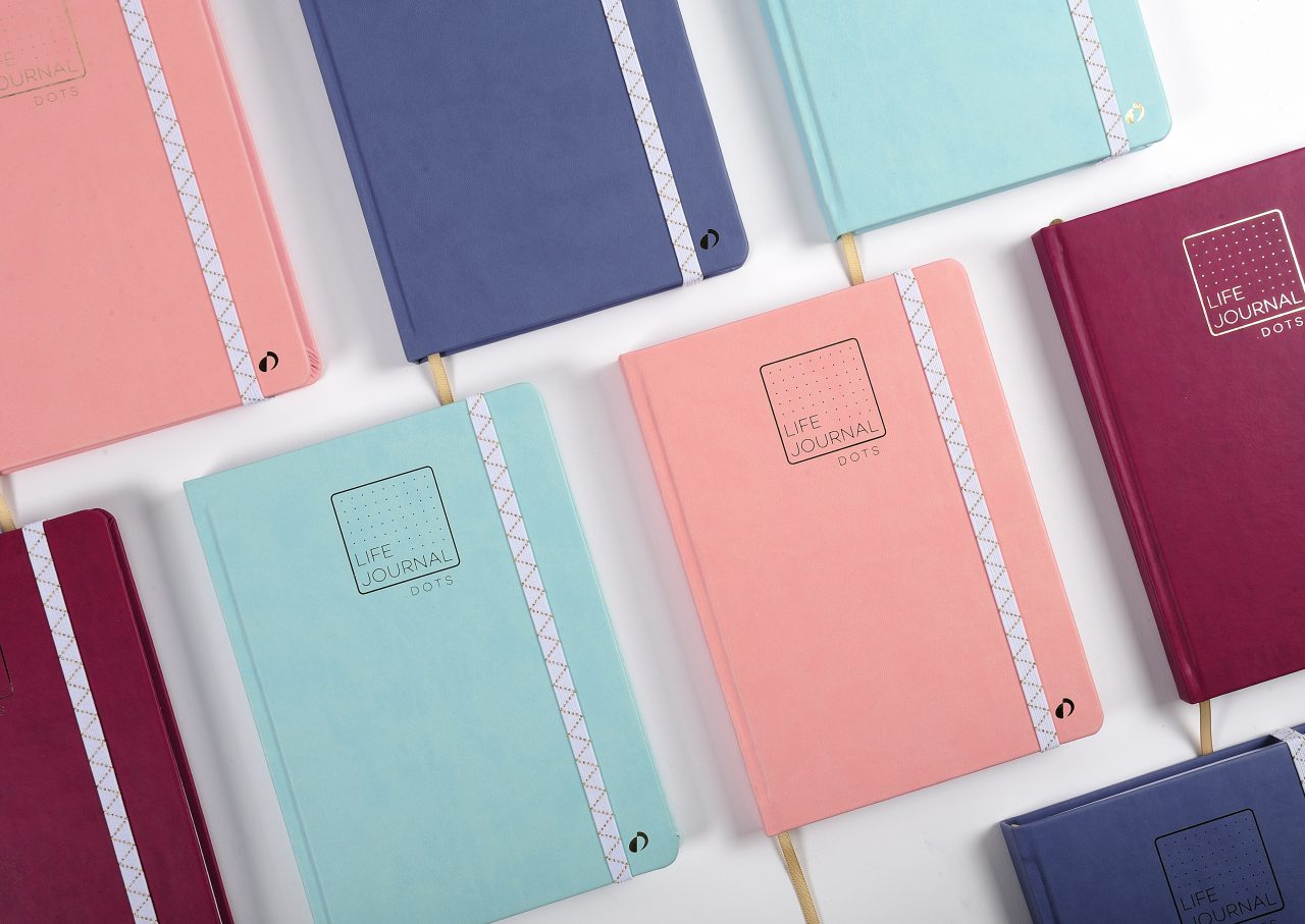 LIFE JOURNAL DOTS - carnets Quo Vadis