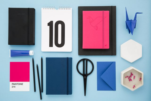 Quo Vadis - gamme Silk collection agendas et carnets 2020-2021